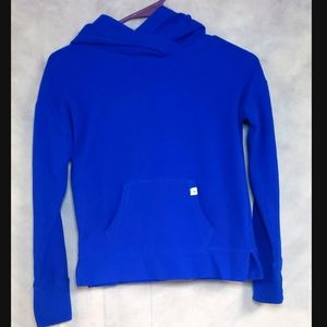 Justice blue hoodie girls size 10